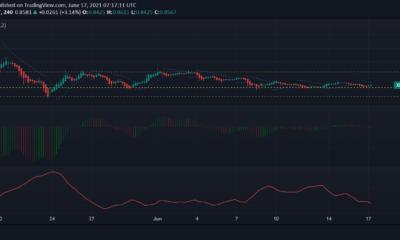 XRP、カルダノ、ドージコイン価格分析:6月17日