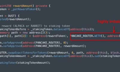 Binance Smart ChainDeFiプロトコルPancakeHunnyがフラッシュローン攻撃に苦しむ